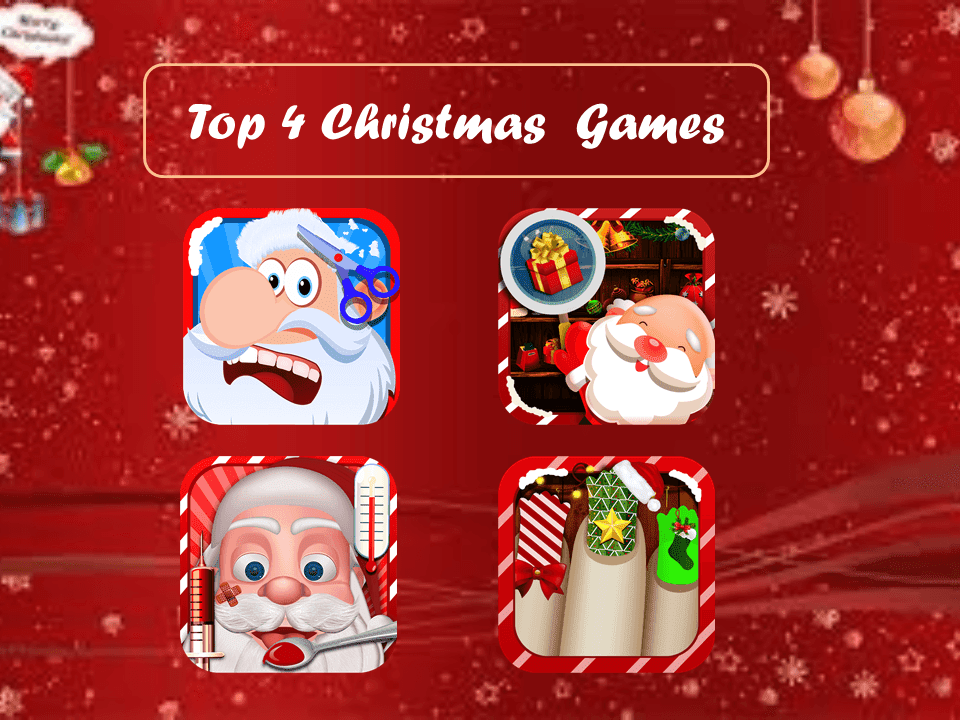 4 Awesome Christmas Games for Kids at Google play - Free Android Game