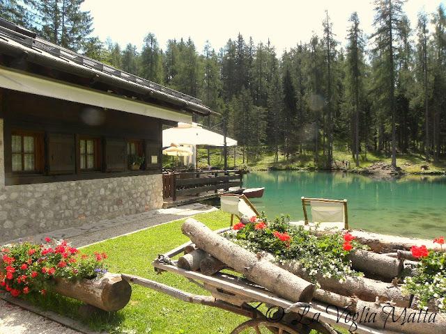 Cortina d'Ampezzo lago Ghedina