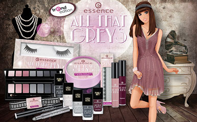 Limited Edition  Essence All That Greys