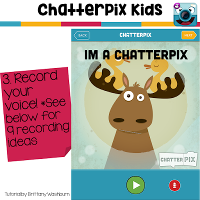 ChatterPix Kids is a great app for integrating technology and reading. In this tutorial I am going to show you the basics of what the ChatterPix Kids app looks like and provide 9 ideas for you to try with your students.