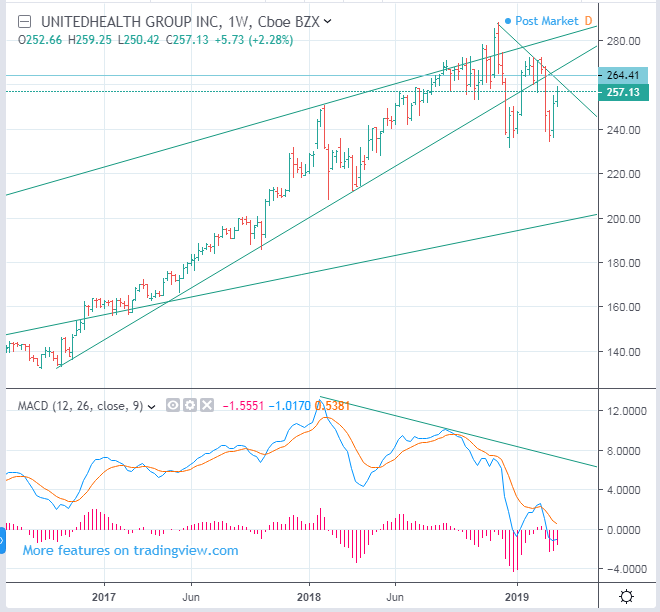 NYSE: UNH - UnitedHealth Insurance Stock Price Forecast
