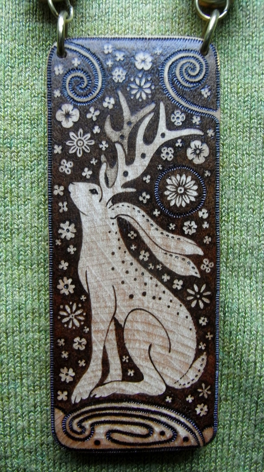 Enchanted Art Pyrography And Illustration My Latest