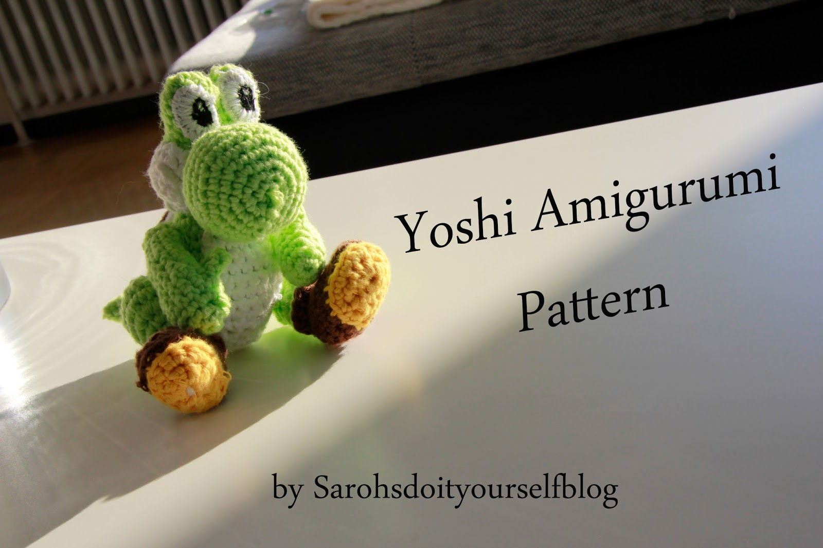 Amigurumi Dinosaur Yoshi Crochet Free Pattern - Amigurumi Free ... | 1066x1600