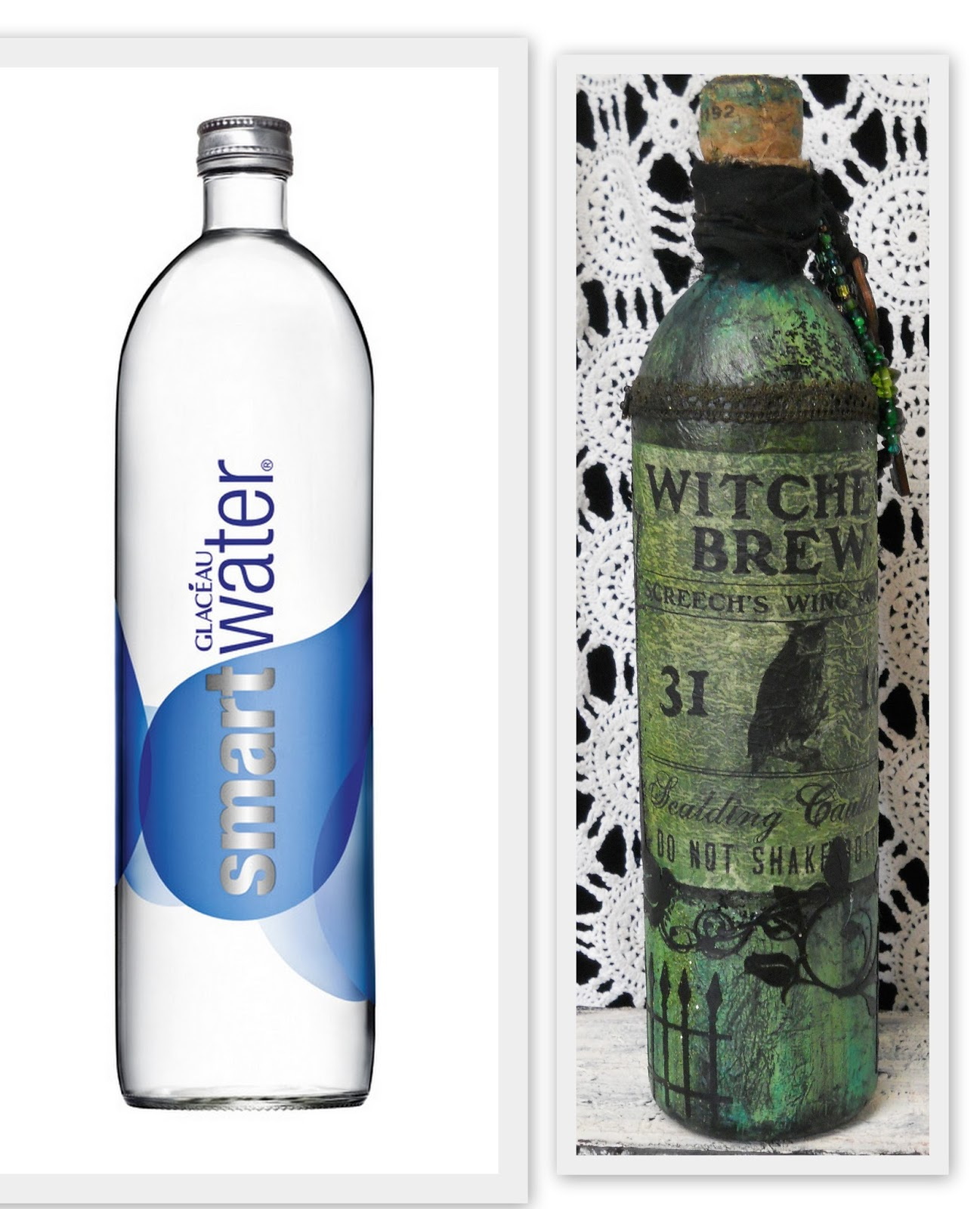 Make The Best of Things: Water Bottle Turned Halloween ...