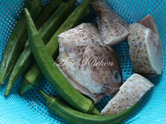 Asam Pedas Ikan Kerapu