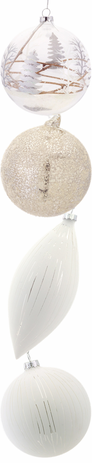 Melrose Assorted Holiday Ornaments