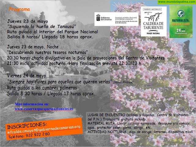 Día Europeo de los Parques en La Palma - Actos