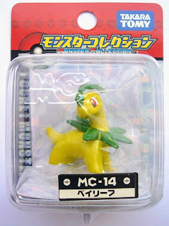 Bayleef figure Takara Tomy Monster Collection MC series