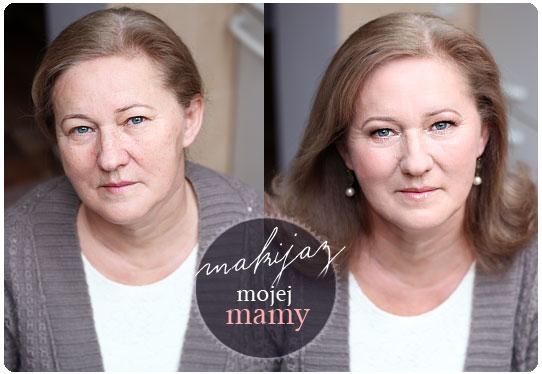Alina Rose Blog Kosmetyczny Makijaż Dzienny Mojej Mamy Opadające