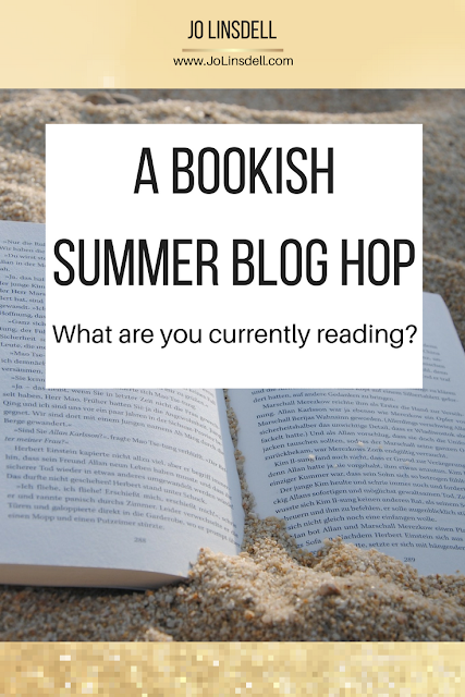 A Bookish Summer Blog Hop: What are you currently reading?