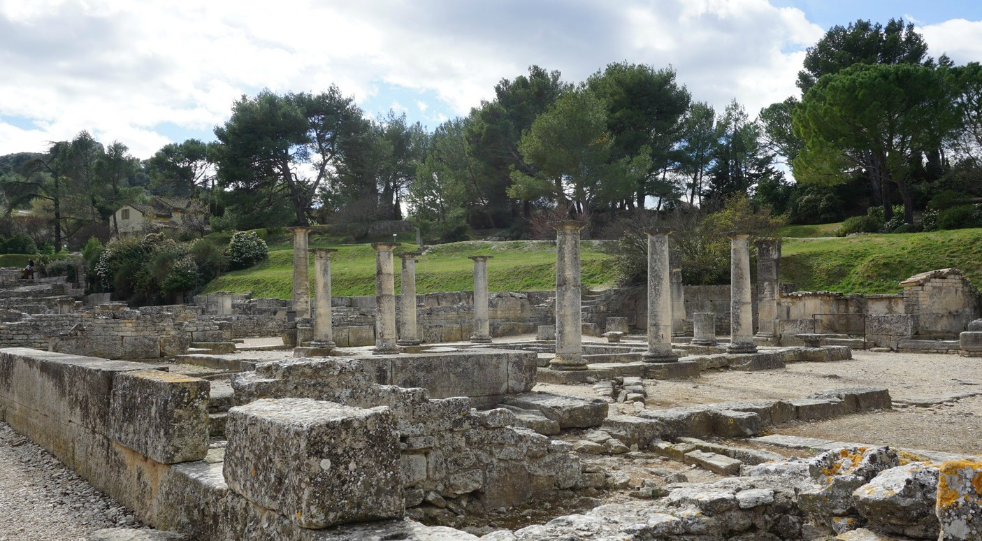 Roman market in Glanum