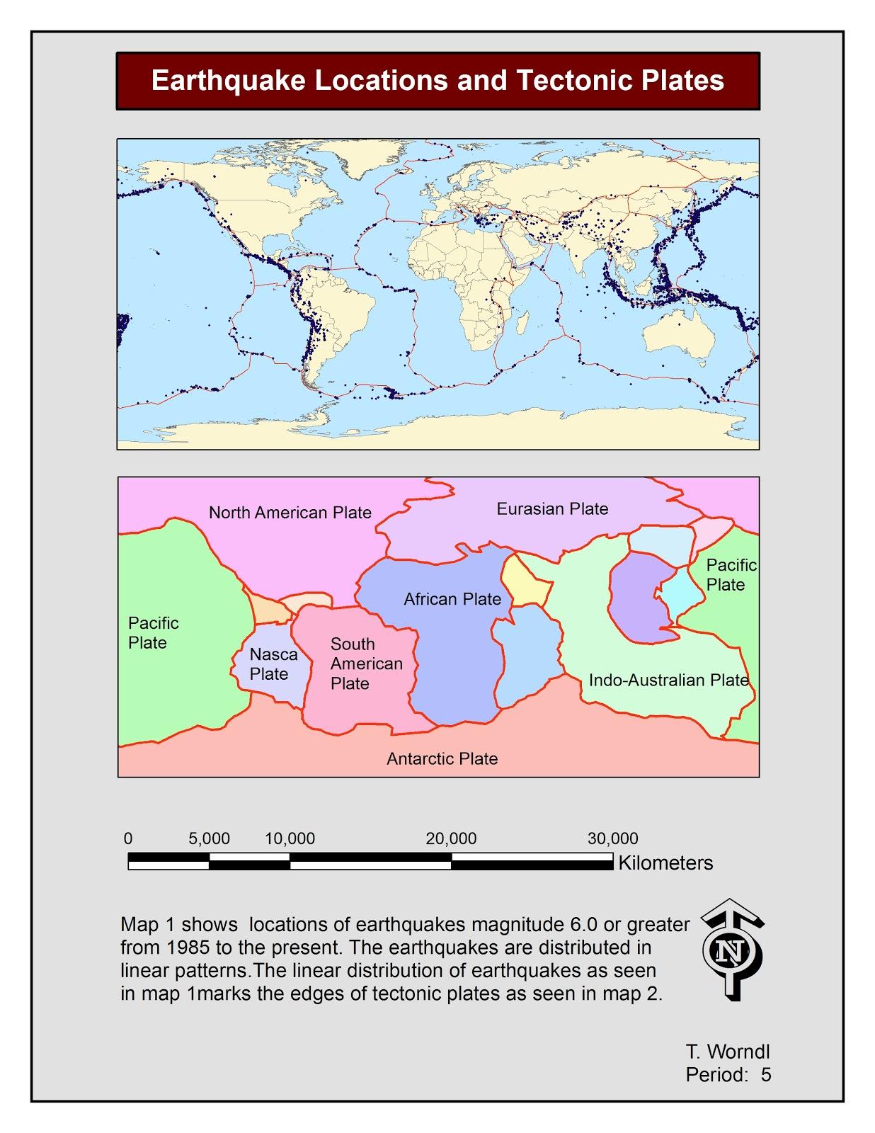 Rez Geography Plate Tectonics