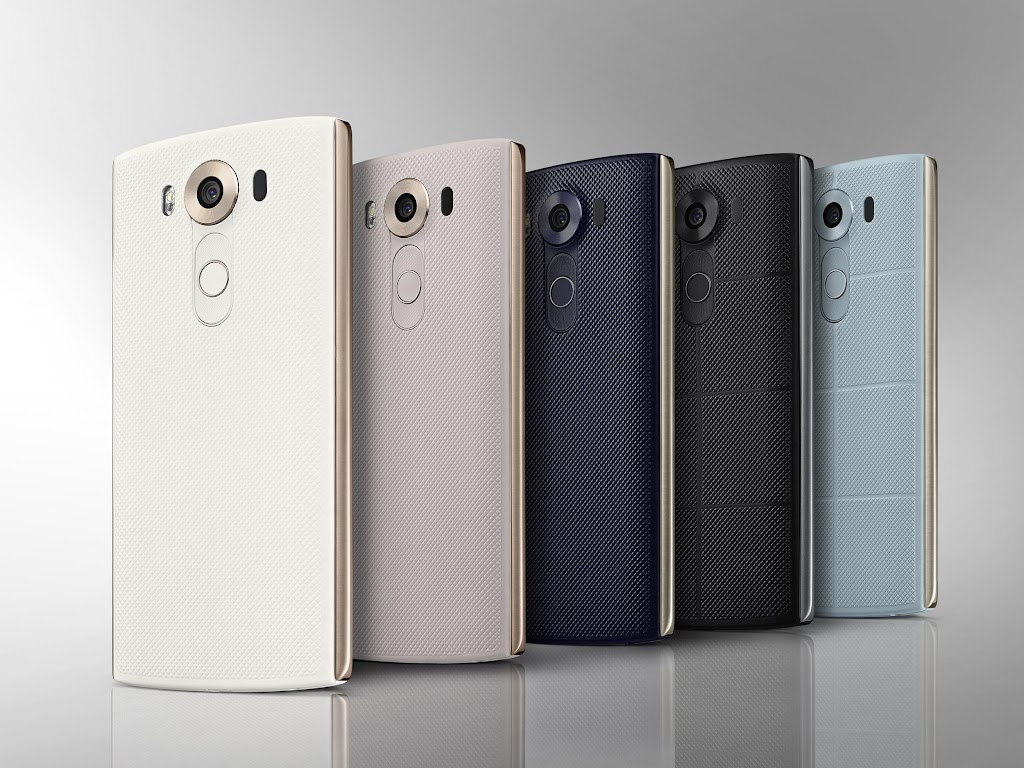 LG新機V10亮相!首創雙螢幕、前置鏡頭好吸睛
