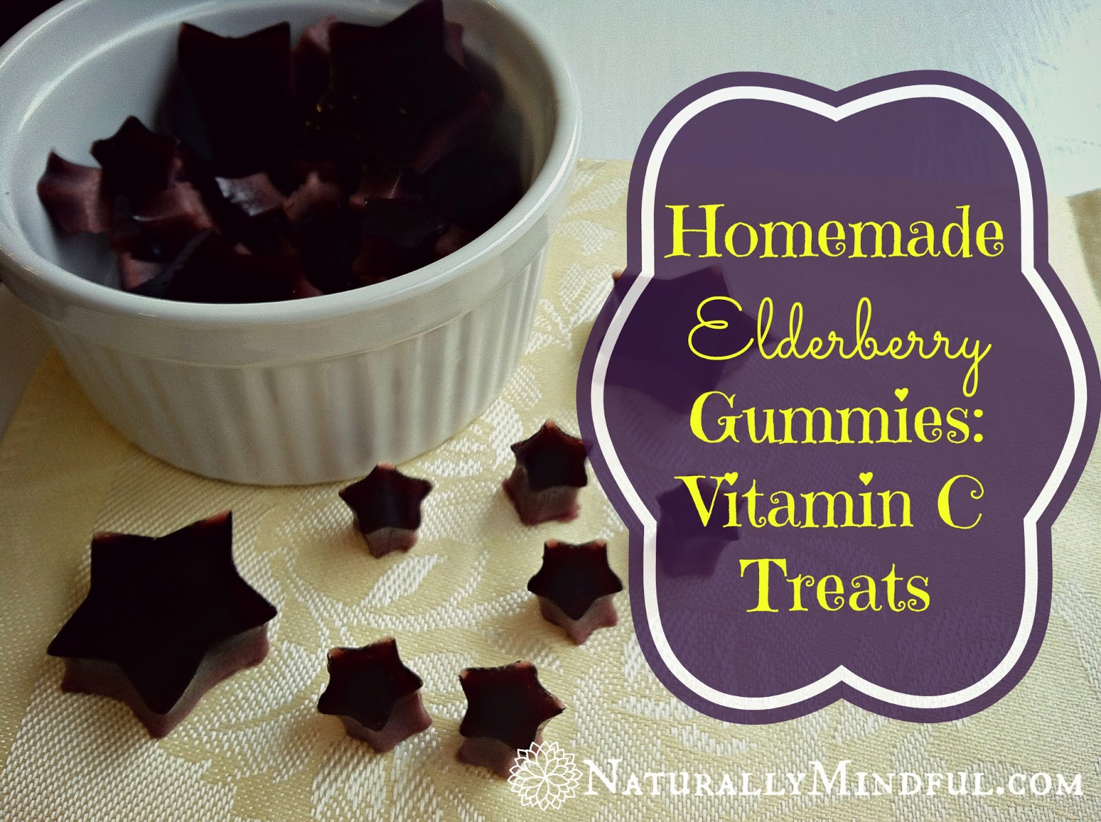 Homemade Elderberry Gummies: Vitamin C Treats - Naturally ...