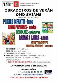 Campamentos de Verano en Vigo - OMD SAIÁNS