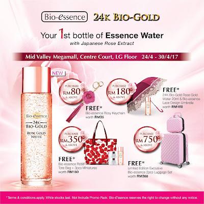 Bio-essence Malaysia Roadshow Free Gifts