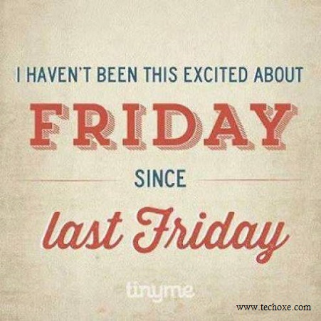 Funny happy friday quotes