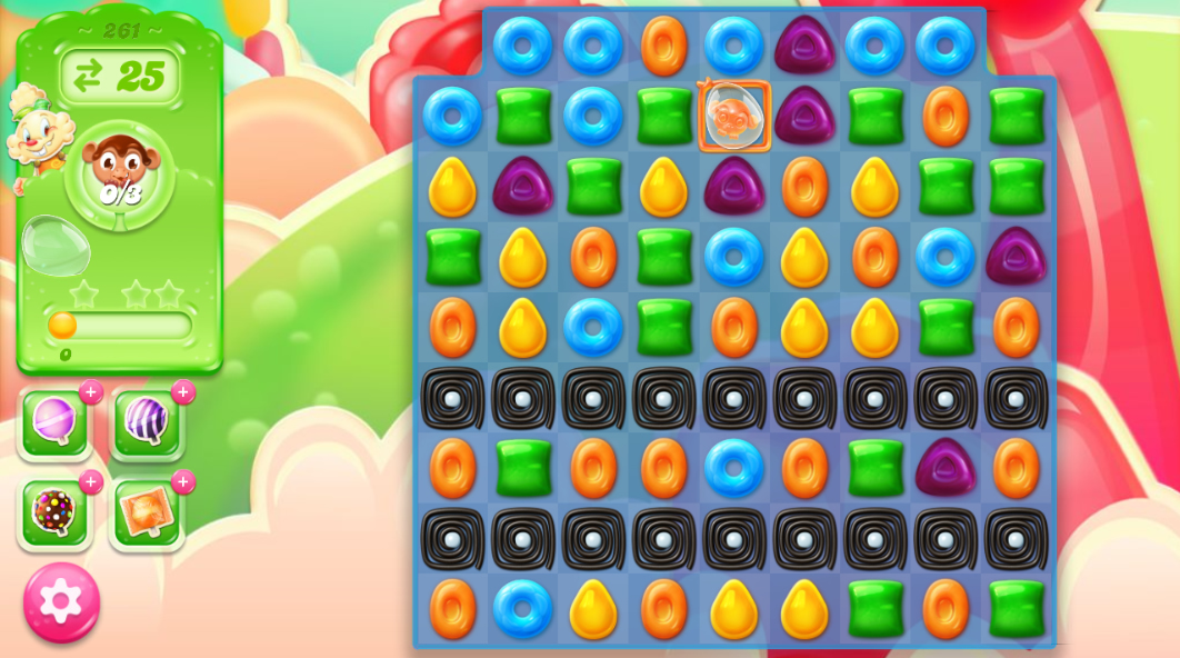 Candy Crush Jelly Saga 261