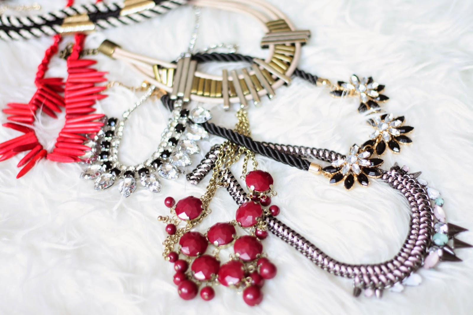 statement necklaces on budget