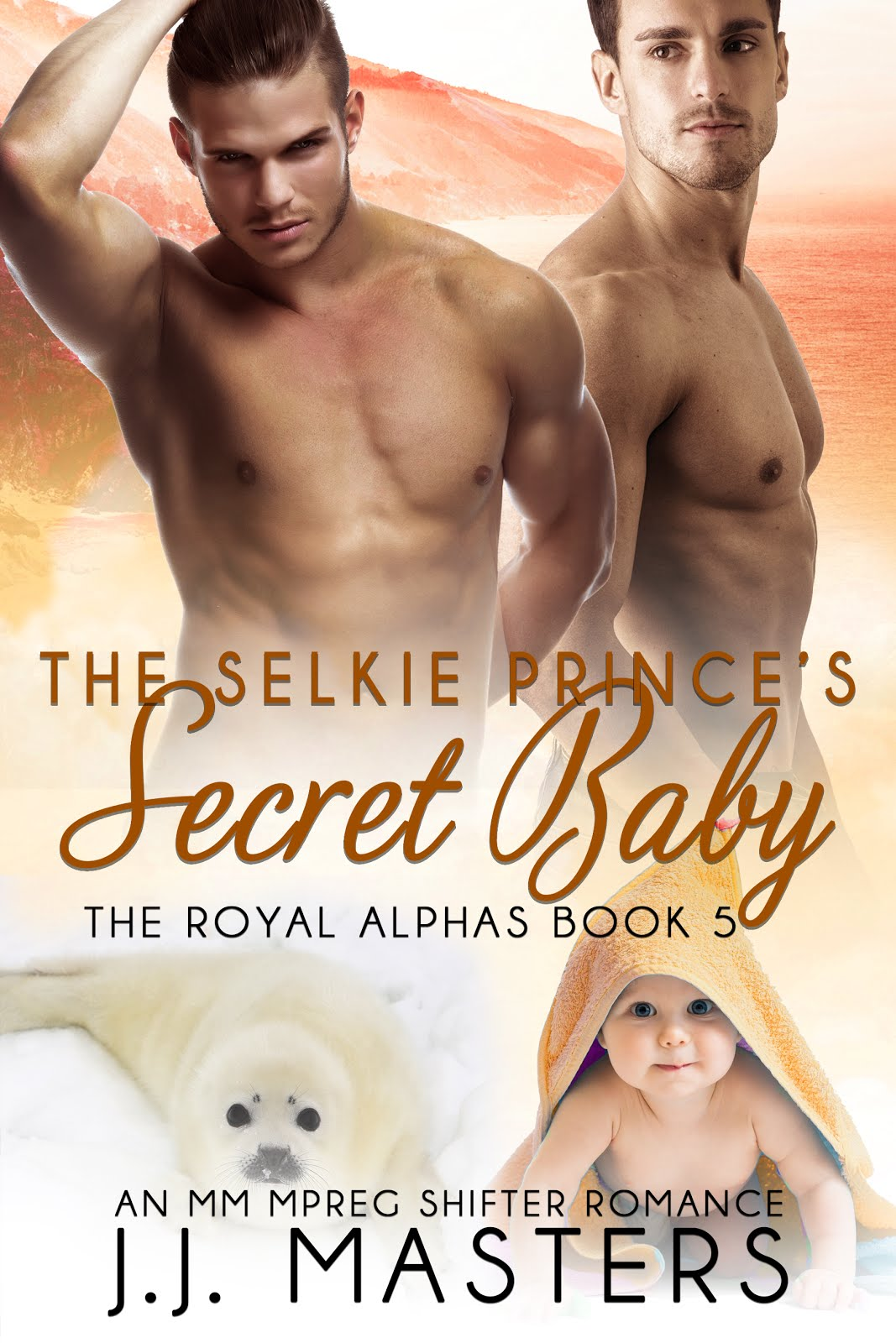 JJ Masters Author The Selkie Princes The Royal Alphas Series