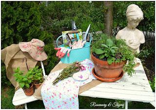 herb garden and beautiful garden photos, herb information