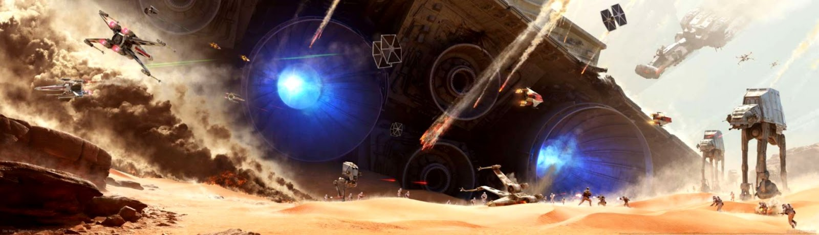 Dual Monitor Wallpaper Star Wars All Hd Wallpapers Gallery