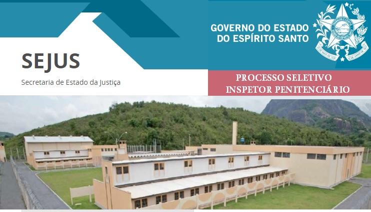 Secretaria de Justiça do ES (Sejus) abre processo seletivo com 180 ... 3d25c51763f85