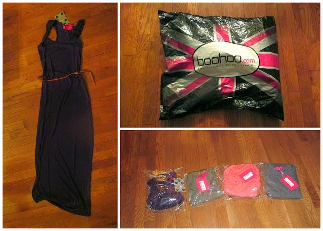 BooHoo maxi dress review junior saving money affordable cheap fashion blogger