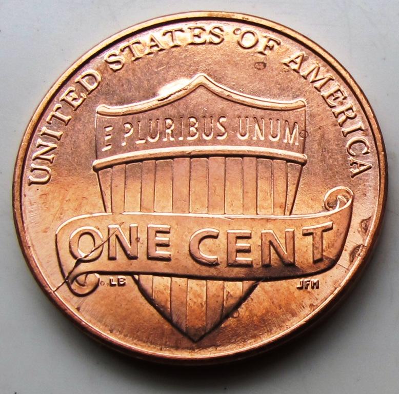 2010 Shield Penny Error