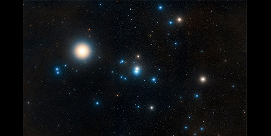 Image of the Hyades, the star cluster closest to the Sun. Credit: NASA, ESA, and STScI