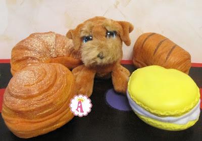 Сладкие щенки в пирожных и булочках Sweet Pups