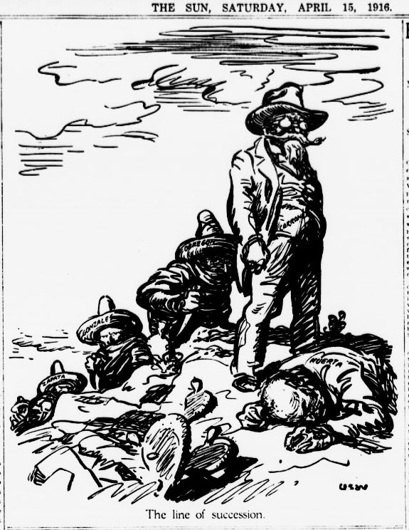 Berge's Cartoon Blog: This Week in the Mexican Revolution