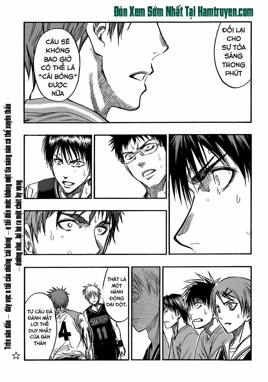 Kuroko No Basket chap 237 trang 4