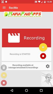 RecMe Free Screen Recorder Pro Apk MafiaPaidApps