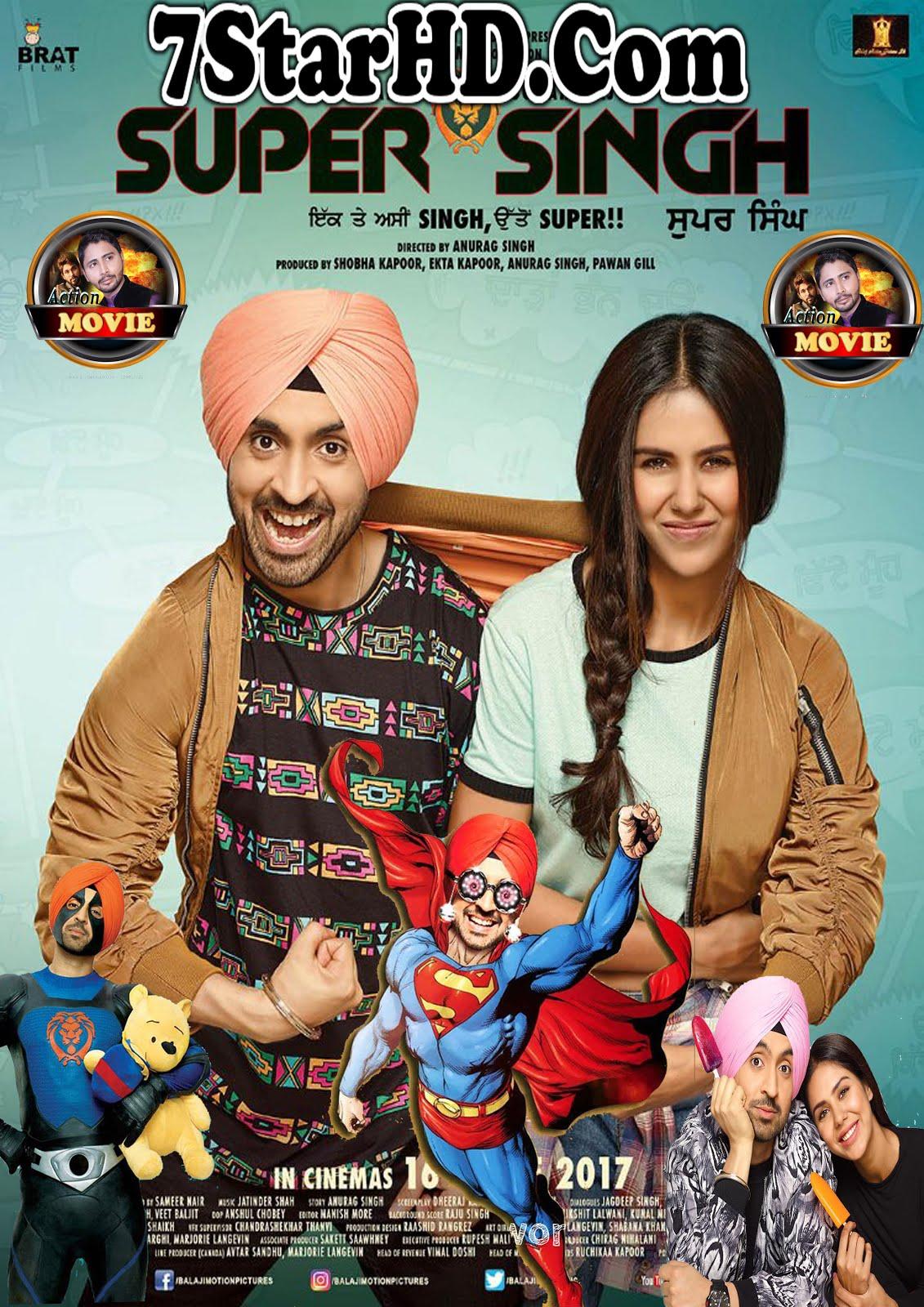 Super Singh (2018) Punjabi 450MB HDRip 480p x264