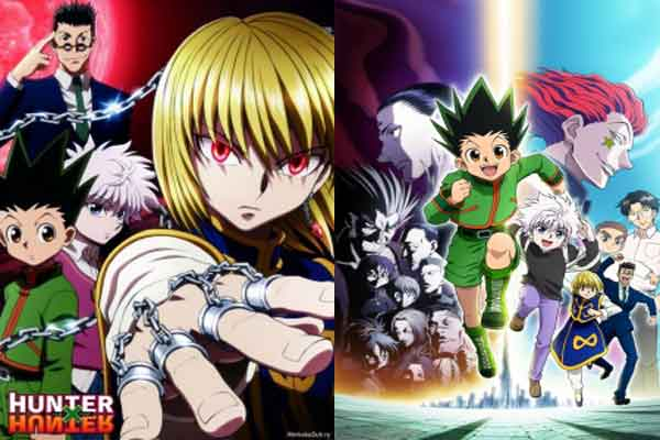 Hunter x Hunter (2011) - anime terbaik
