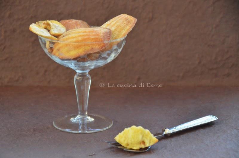 La cucina di esme madeleine alla cannella - La cucina di esme ...