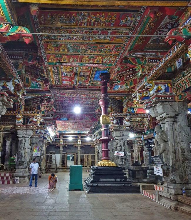 Sri Vairavar Swamy Temple Dwajasthambam