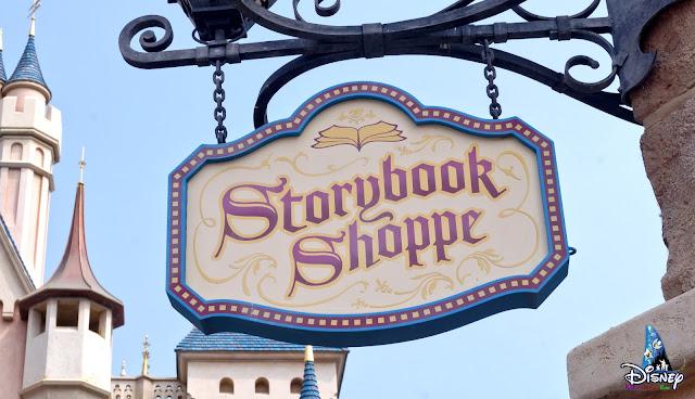 香港迪士尼樂園「童話藝坊」(Storybook Shoppe)完成歷史任務