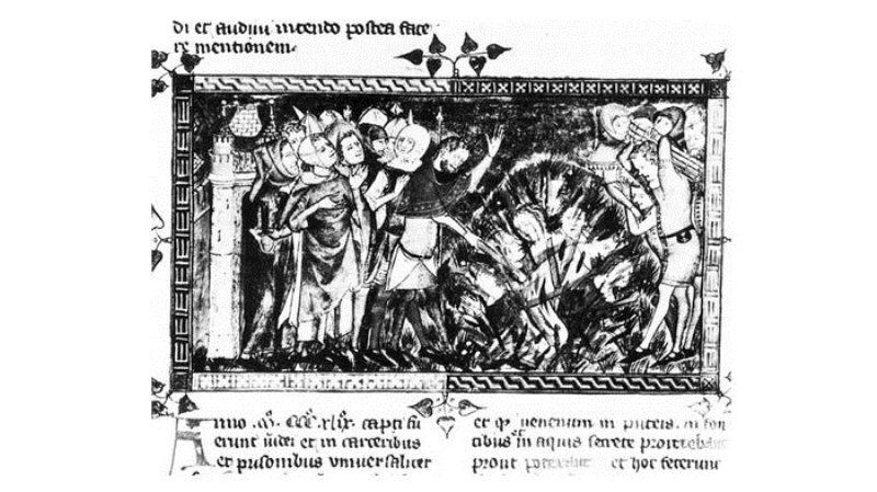 Sejarah Pembantaian Ratusan Yahudi Perancis di Hari Valentine 1349