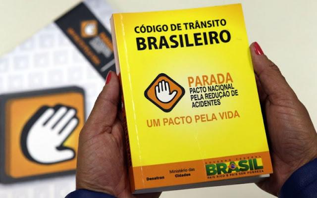 Novas regras do Código de Trânsito Brasileiro começam a valer na próxima semana
