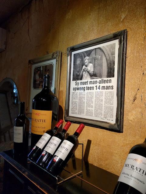 Weinverkostung Stellenbsoch