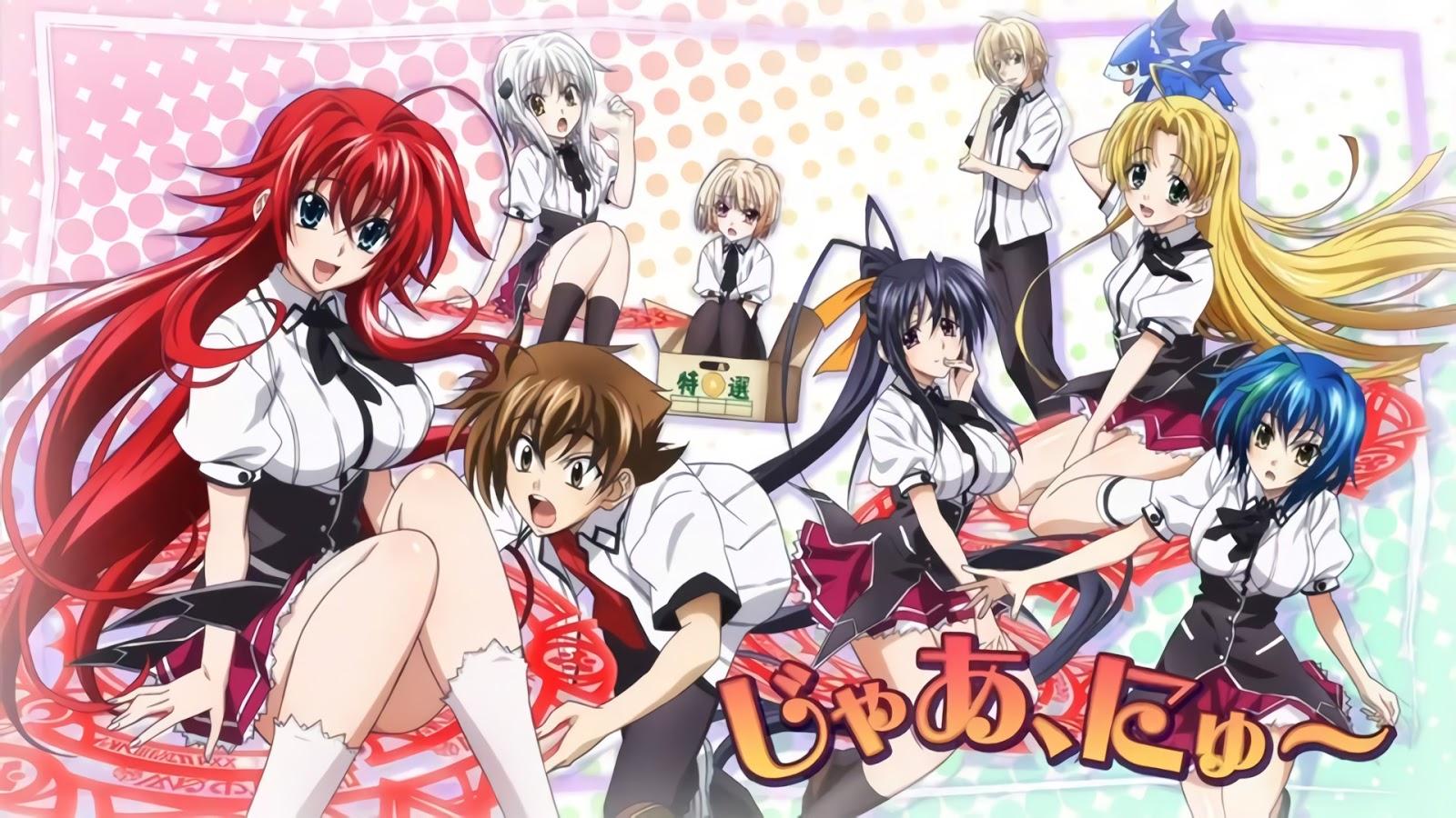 Highschool DxD New BD + OVA [S2] Subtitle Indonesia