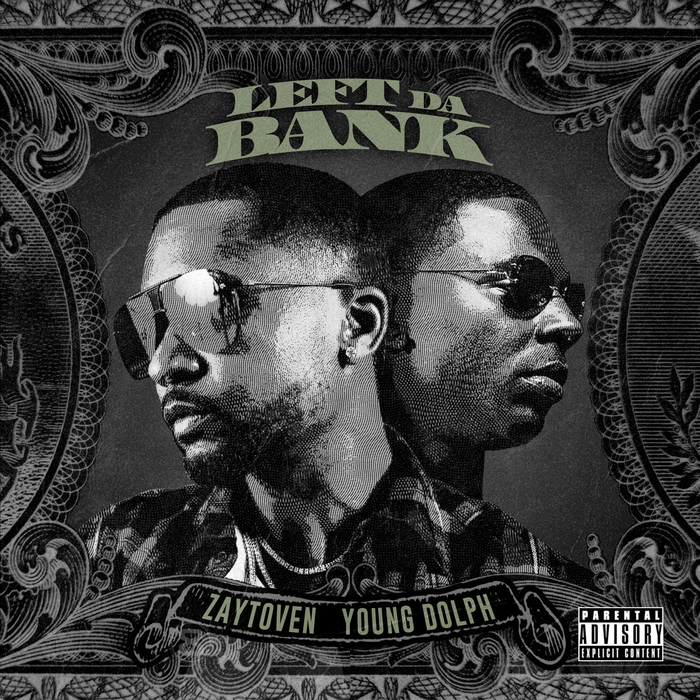 Zaytoven - Left da Bank (feat. Young Dolph) - Single Cover
