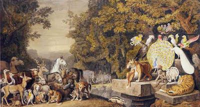 Los animales congregados en Cortes - Rafael García Goyena