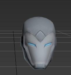 Helmet Superior Iron Man Magos Do Papel