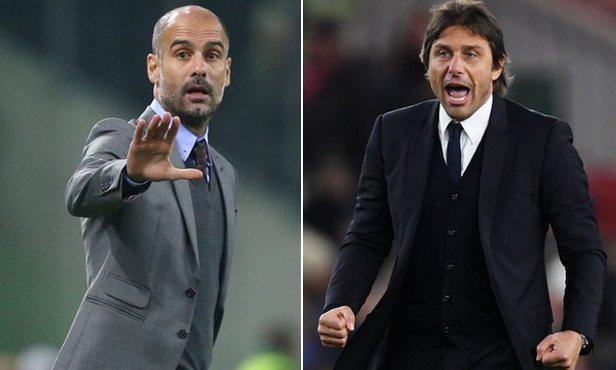 Guardiola vs Conte, Prediksi Manchester City vs Chelsea, EPL 2016/2017 GW 14