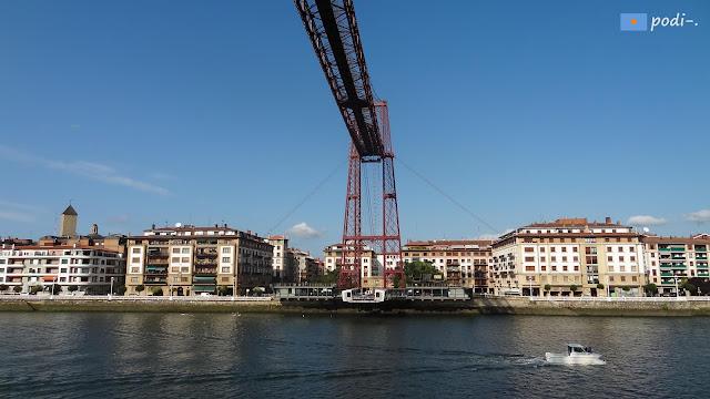 Las Arenas, Getxo, Portugalete, Puente de Vizcaya, colgante