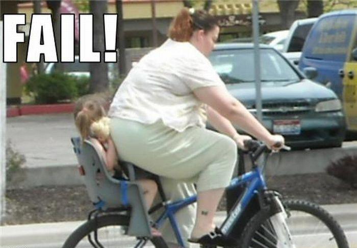 велокресло для ребенка