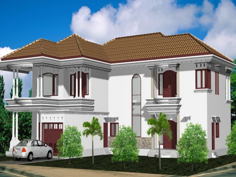 model rumah minimalis 2 lantai 6